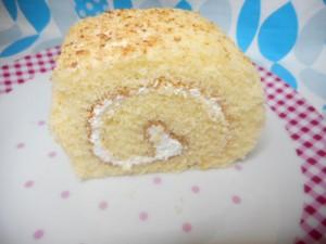 ロールケーキ:クリスマスにオススメのお菓子