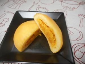 ハロウィン用お菓子③ パンプキンまんじゅう